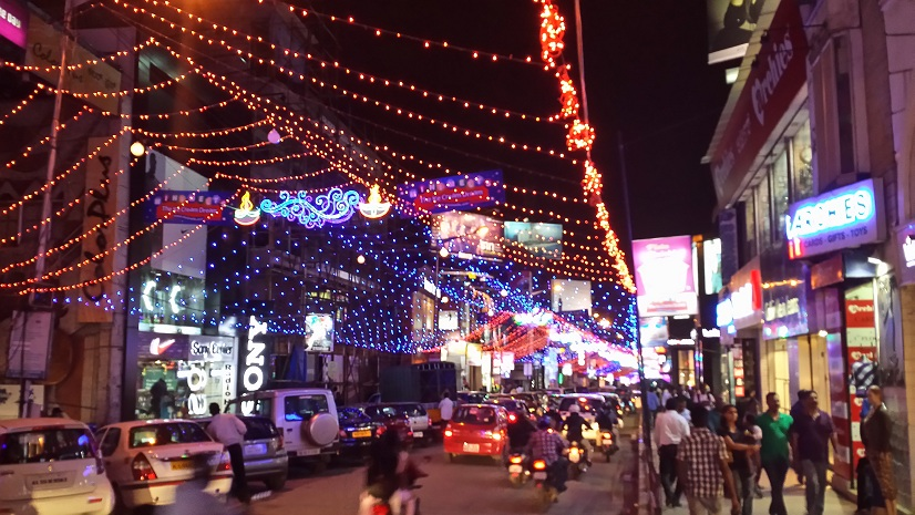 Shopping in Bangalore Rows India Journal