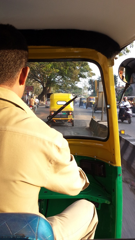 Rickshaw in Bangalore