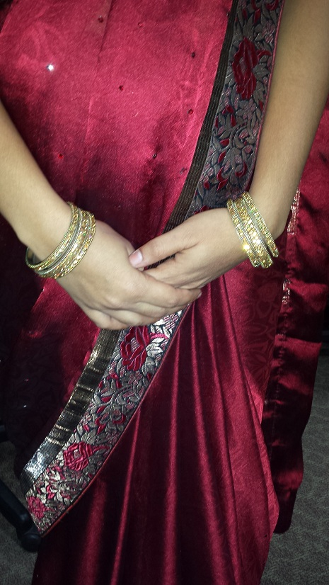 Mamatha_wearing_sari