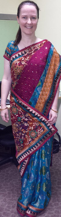 Row_wearing_Sari